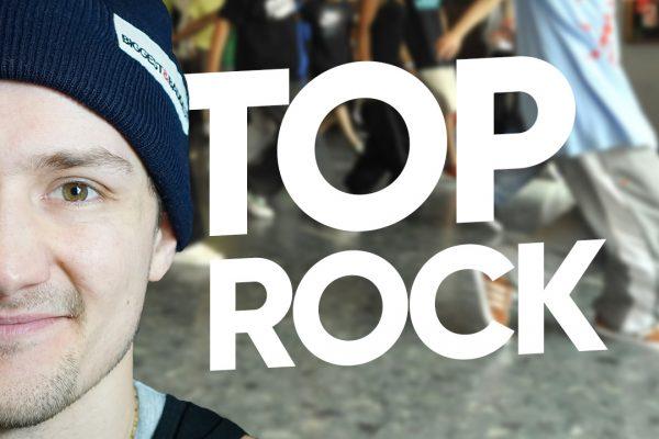Учимся танцевать брейкданс с нуля • CROSS STEP - TOP ROCK