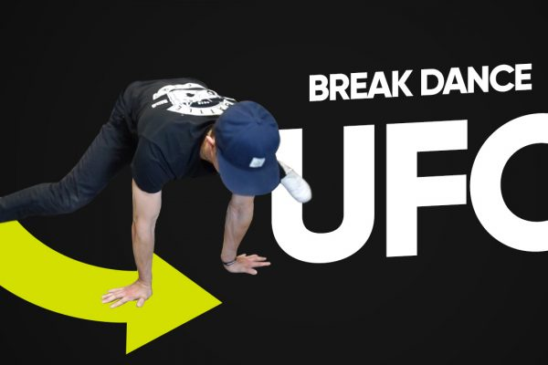 УФО (UFO) брейк данс обучение — breakdance powermoves