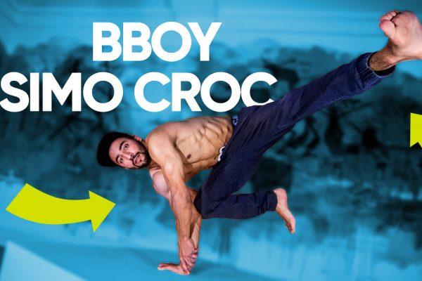 Airflare, растяжка и power moves — bboy Simo Croc • Break Dance Advice