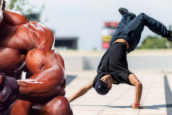 Break Dance танцы и BODYBUILDING - что общего?