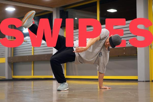 Легкие движения в брейк дансе - SWIPES