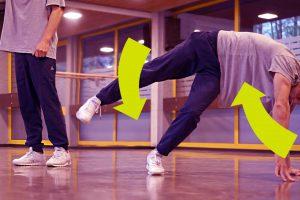 Танец руками и ногами — SWIPES windmill SWIPES